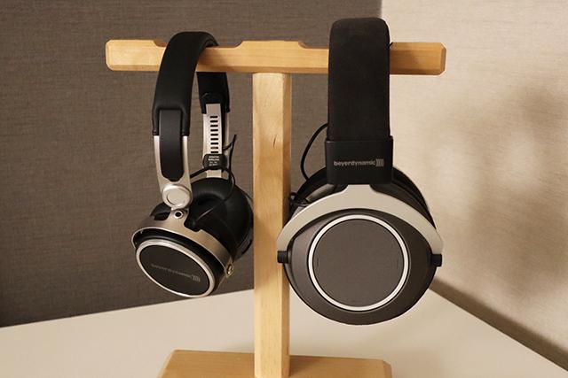 图左为Aventho Wireless耳罩耳机;图右为Amiron Wireless耳罩耳机。
